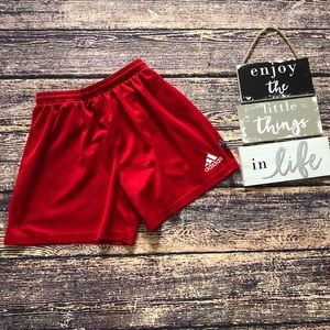 🌀Adidas | Red Active Gym Workout Shorts